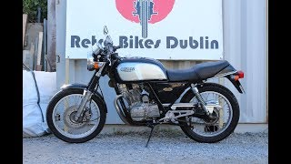 Honda GB 250 Clubman (Grey) 1988 Review / Overview