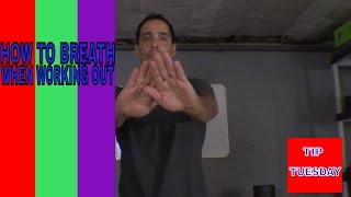 HOW TO BREATH WHEN WORKING OUT! TIP TUESDAY#5