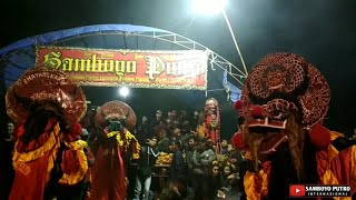 Download Video SAMBOYO PUTRO - FULL Rampak Singo Barong GANAS & ANGKER Live COWEKAN BANYAKAN MP3 3GP MP4