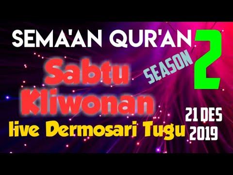 Live Semaan Sabtu Kliwon Bag 2