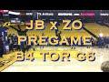Jordan Bell x Alfonzo McKinnie pregame b4 Game 6 NBA Finals vs Toronto Raptors