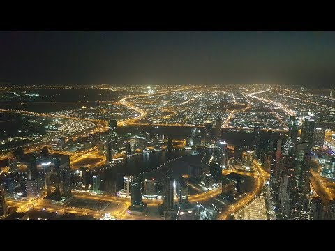 "148th floor -Tallest Building in the World, Burg Khalifa, Dubai, UAE - view from ""The Top"""