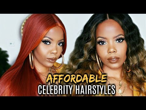 UNDER $28 | AFFORDABLE WIGS FOR BEGINNERS | MUST HAVE CELEBRITY HAIRSTYLES  | IT'S A WIG | TASTEPINK