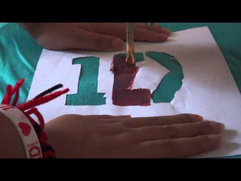 DIY How To Make 1D T-Shirt