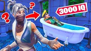 9000 IQ VERSTECK in STRANGER THINGS! Fortnite Hide and Seek!