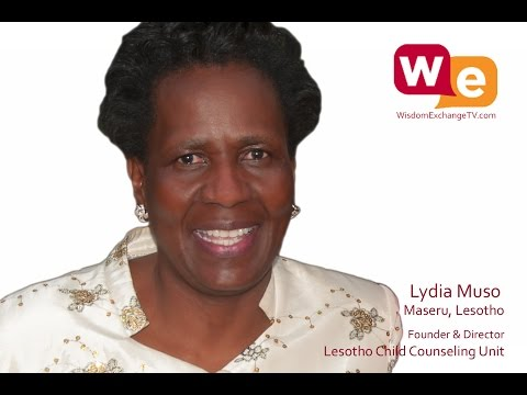 Wisdom Exchange TV with host Suzanne F Stevens presents: Lydia Muso of Lesotho