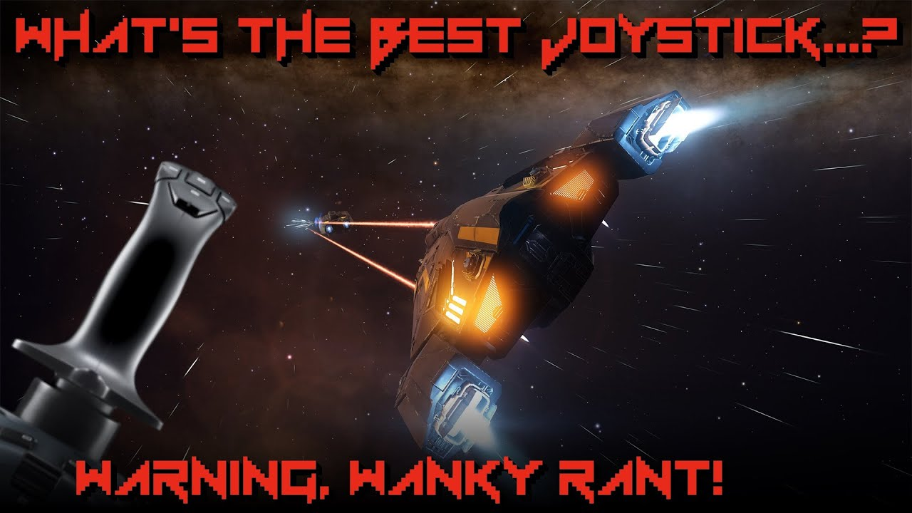 The Best Joystick For Elite Dangerous? + Keyboard & Joystick Setup |  Logitech Make a HOTAS