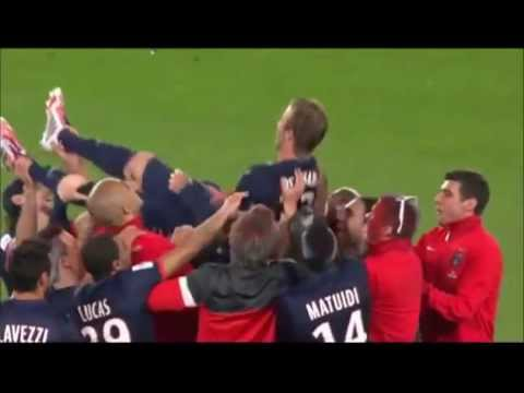 David Beckham sad moment