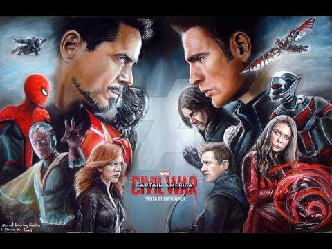 MCU Civil War Tribute: Superhero