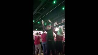BAMA vs UGA National championship 2018 Fan reaction game winning TD