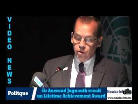 Un Lifetime Achievement Award pour Sir Anerood Jugnauth