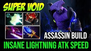 Insane Lightning ATK Speed With Super Chrono [Faceless Void] THE BASH LORD 22Kills By N   Dota 2