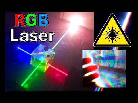 Amazing White Laser Experiments!!!