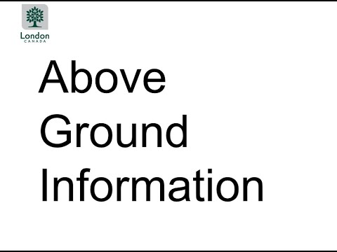 Presentation 2: Above Ground Project Information for Foster Avenue and Upper Avenue