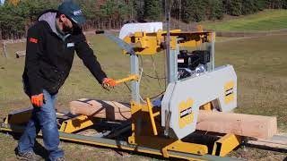 Introducing: The Frontier OS27 Portable Sawmill