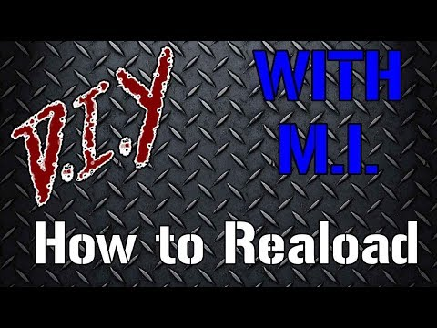 DIY with MI - Reloading
