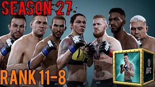 EA SPORTS UFC Mobile - H2H Season 27 Rank 11 - 8 Reward Opening!