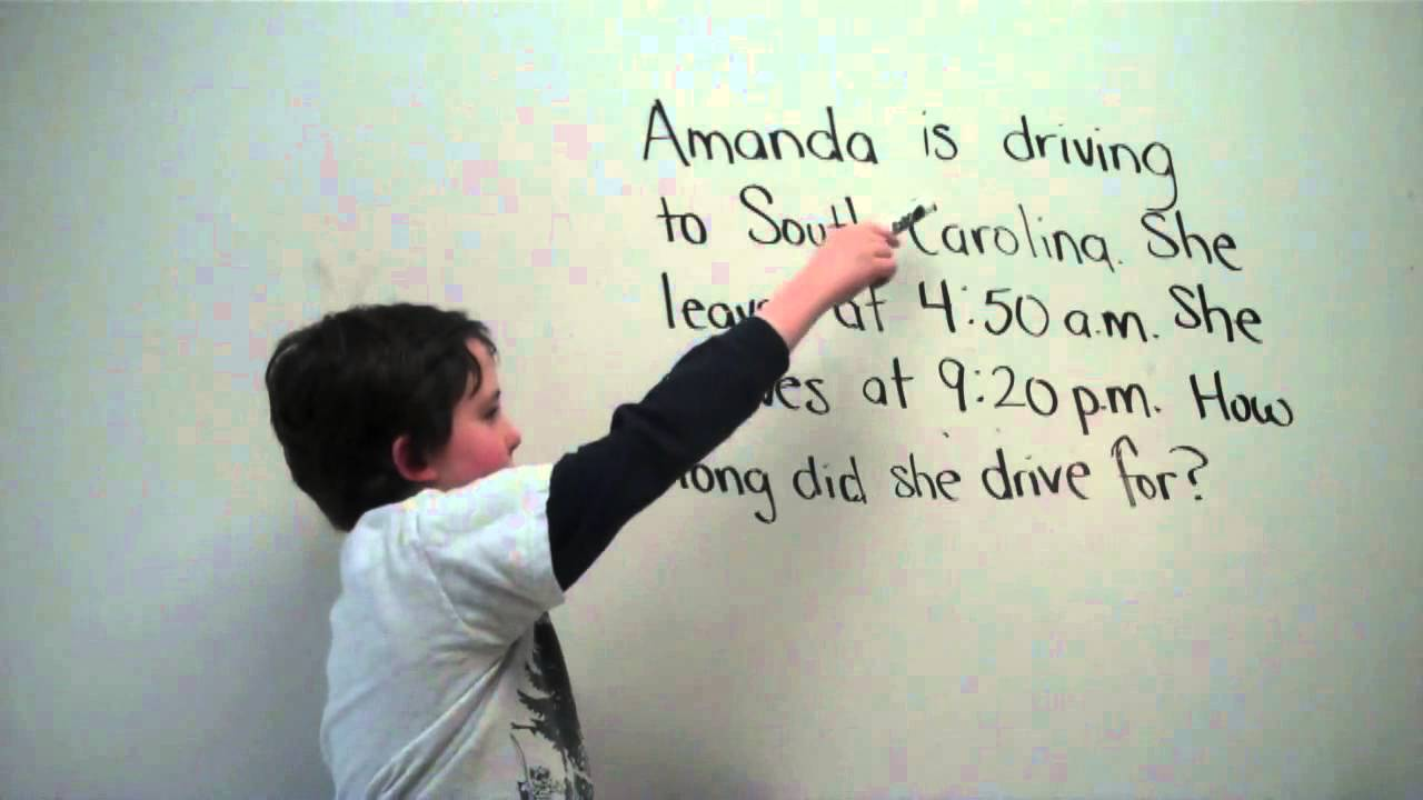 Elapsed Time Number-Line | The Avery Bunch