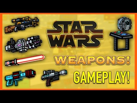 Pixel Gun 3D - Star Wars Weapon Gameplay!