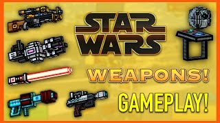 Pixel Gun 3D - Star Wars Weapon Gameplay!