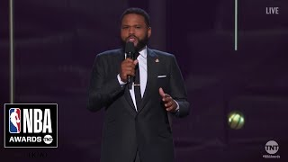 NBA Awards Opening Monologue | Anthony Anderson