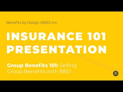 Group Benefits 101: Selling Group Benefits with Benefits by Design