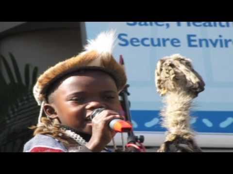 7 year old Izibongo Praise Singer