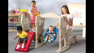 Little Tikes Swing Along Castle Review -kids Toys Xmas