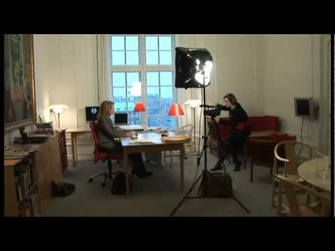 Portrait movie of Danish Prime Minister, Ms. Helle Thorning-Schmidt