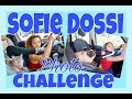 I copied SOFIE DOSSI Instagram CHALLENGE :) Fed my brother a burger with my feet