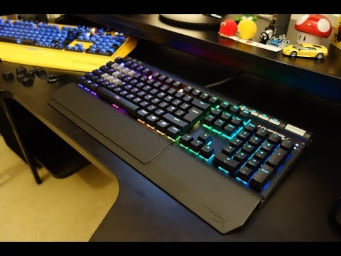79bb3eca294 HyperX Alloy Elite RGB review - The best mechanical gaming keyboard - By  TotallydubbedHD