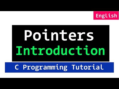 29 | Pointers in C Programming Language Video Tutorial for Beginners