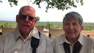 Laurie and Kay's interview on Africa Tour