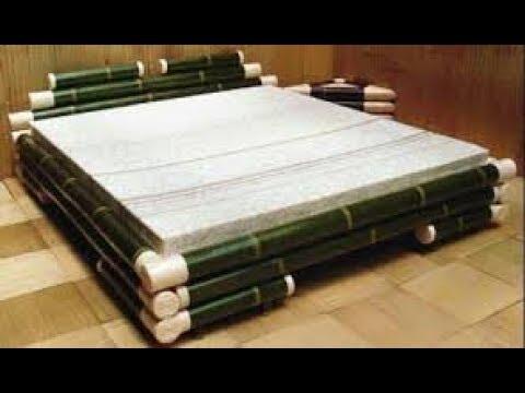 Tempat Tidur Unik Dari Bambu  YouTube