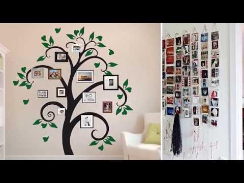 Как разместить картины на стене разных размеров