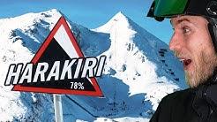 Achtung: Die 10 steilsten Pisten der Alpen