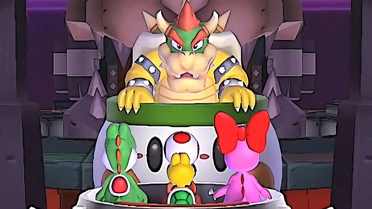Mario Party 9 Party Mode Bowser Station 1 Youtube