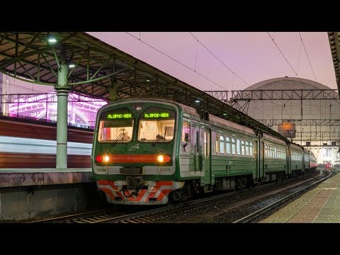 ZDSimulator. Пригородный поезд № 6181 Москва-Киевская - Калуга-2