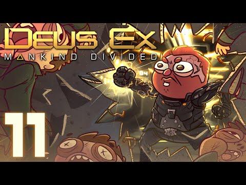 Deus Ex: Mankind Divided [Part 11] - Bank Heist