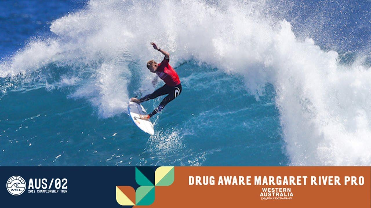 04010ae56c83f8 Day 2 Highlights - Drug Aware Margaret River Pro 2017 - YouTube