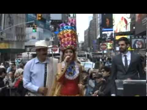 Colombia se toma Times Square