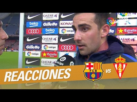 "Paco Alcácer: ""Tenemos que seguir en esta línea"""
