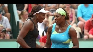 Serena and Venus Williams Play Funny Tennis : Exhibition In Argentina 2013