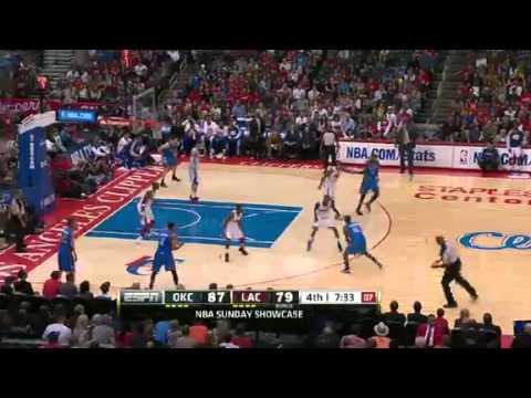NBA CIRCLE - Oklahoma City Thunder Vs LA Clippers Highlights 3 March 2013 www.nbacircle.com