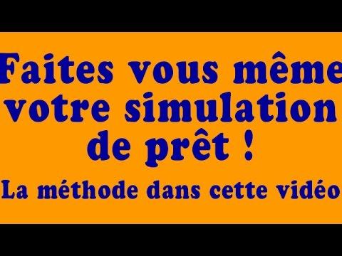 Simulation pr t immobilier je vous montre tout youtube - Simulation pret travaux cetelem ...