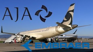 HD RARE Al Jaber Aviation Embraer Lineage 1000 A6-AJH Takeoff from San Jose International Airport
