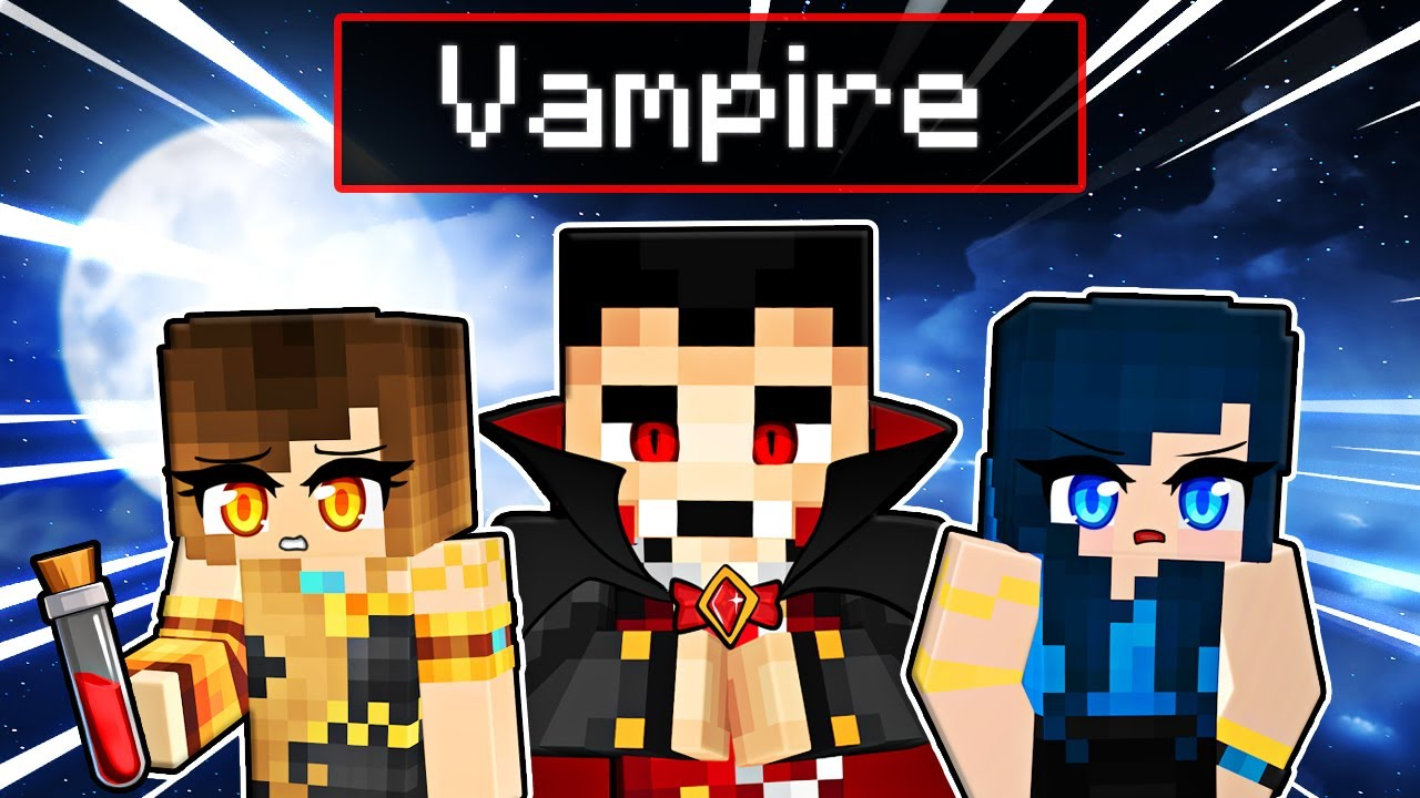 Saving our FRIEND from a VAMPIRE in Minecraft!