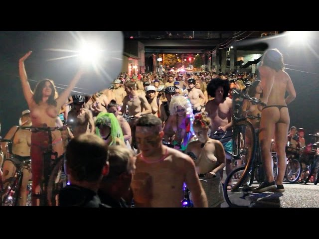 World Naked Bike Ride Portland 2015 UNCUT - WNBR 2015 - pdXcentric