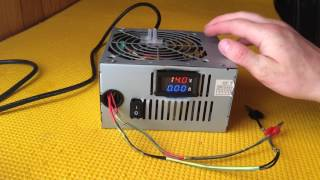 видео Как сделать зарядное устройство из БП (блока питания) компьютера для автомобильного аккумулятора