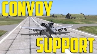 DCS World A-10C - Convoy Support